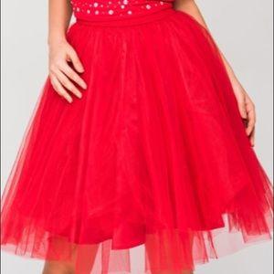 Beautiful Red Tutu skirt from Turkey
